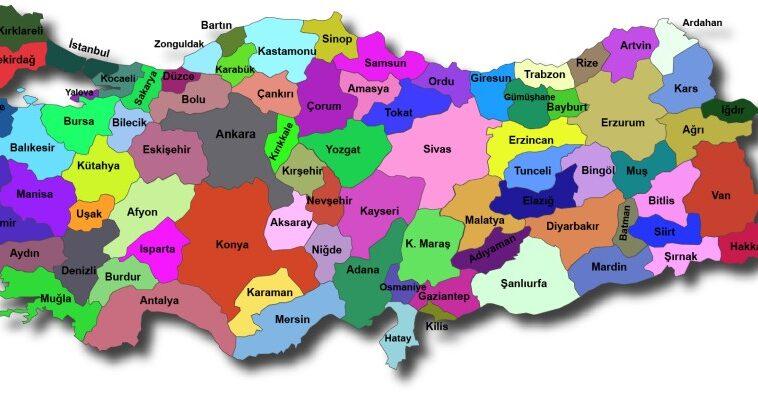 Türkiye İller Listesi